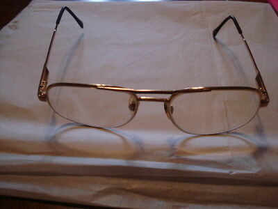 Luxottica Carlos Eye Glasses 58/ 18/140 Kuxx Italy/ Progressive Bi-Focal