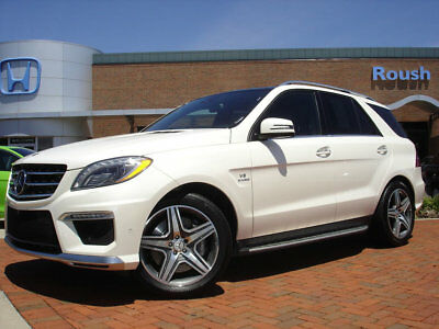 Mercedes-Benz M-Class ML63 AMG TEXT MESSAGE READER+TOP VIEW CAMERAS+PRE-SAFE BRAKES