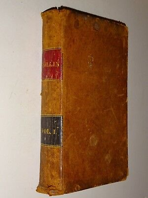 1843 The Ancient History of the Egyptians, Carthaginians Vol 1 by Charles Rollin