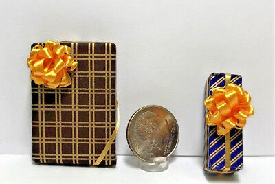 Dollhouse Miniature Presents - All Occasion Wrapped Gifts #36 1:12 Scale