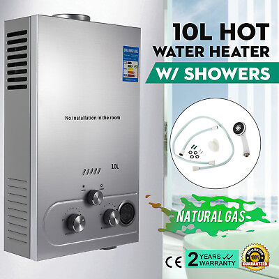 10L Natural Gas Hot Water Heater Fashionable Tankless High Efficient