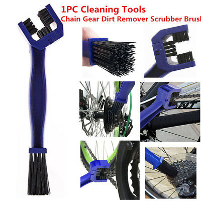 Chain Gear Dirt Remover Scrubber Brush Cleaning Tools For Bicycle Motorcycle 1PC