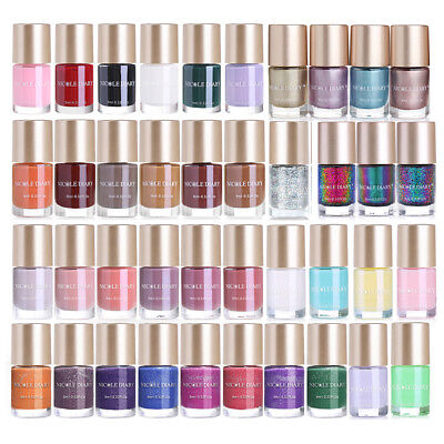 9ml NICOLE DIARY Nail Polish Shiny Matte Holographic Mermaid Chameleon Nail Art