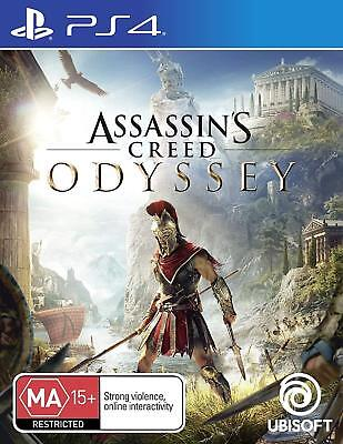 Assassins Creed Odyssey PS4 Playstation 4 Brand New