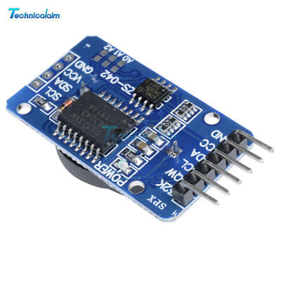 2Stks DS3231 AT24C32 IIC RTC Clock Timer Memory Module For Arduino
