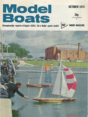 Model Boats Magazine. Volume 24, No. 285, October, 1974. Marblehead Championship