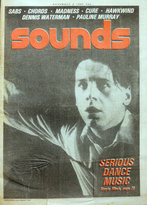 Sounds Magazine 8 Nov 1980 . Simple Minds Cover . Hawkwind Monty Python .not Nme
