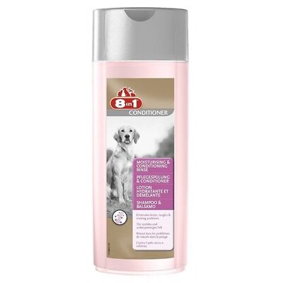 8in1 Shampoo e Balsamo 250 ml per cane