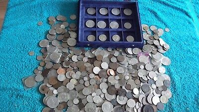 ACCUMULATION/JOB LOT OF OVER 5.5 KGS OF BRITISH COINS  99p