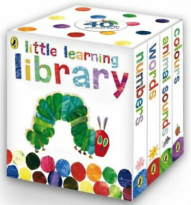 Rainbow Designs THE VERY HUNGRY CATERPILLAR LITTLE LEARNING LIBRARY Book/Gift BN