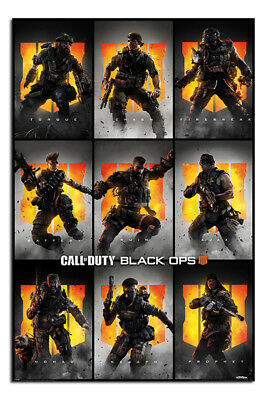 BATTERY POSTER VIDEO GAME 16999 22x34 BLACK OPS 4 CALL OF DUTY