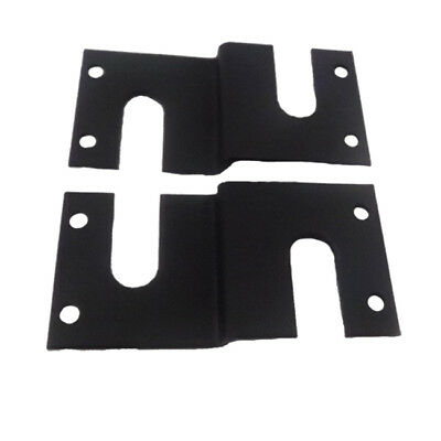 Laundry Accessories Heavy-duty Floor Brackets - Black
