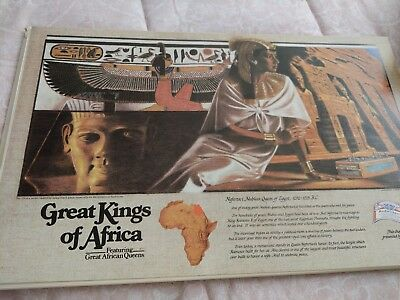 Budweiser Great Kings Of Africa No 23 Placemat Nefertari Nubian Queen Of Egypt