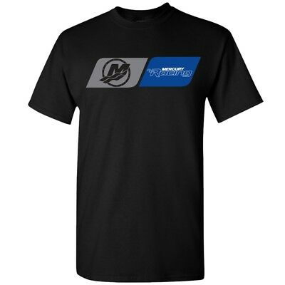 Mercury Racing DryBlend 50/50 Tee Black