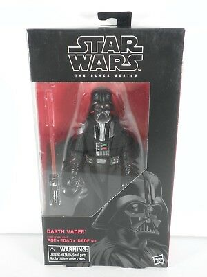 """Star Wars #43 Darth Vader The Black Series Sealed TBS 6"""" Scale JH"""
