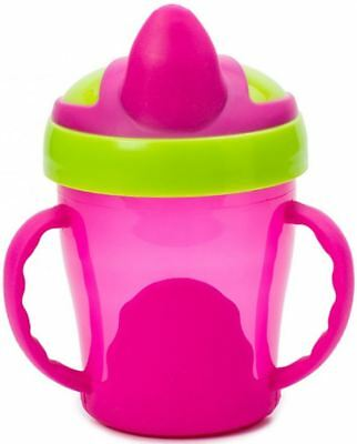 Vital Baby Soft Spout Trainer Cup 200ml - Pink