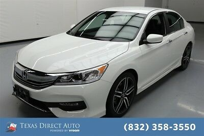 Honda Accord Sport Texas Direct Auto 2017 Sport Used 2.4L I4 16V Manual FWD Sedan