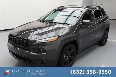 Jeep Cherokee High Altitude Texas Direct Auto 2016 High Altitude Used 2.4L I4 16V Automatic FWD SUV