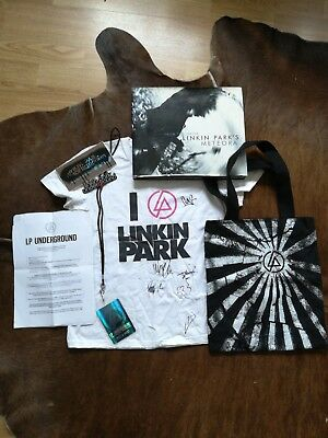 Linkin park t shirt signed by all