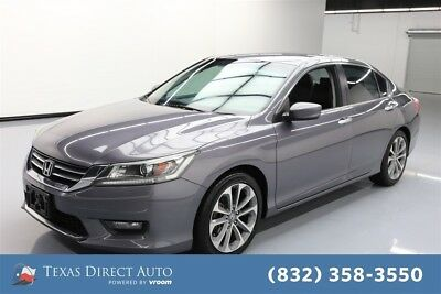 Honda Accord Sport Texas Direct Auto 2014 Sport Used 2.4L I4 16V Automatic FWD Sedan