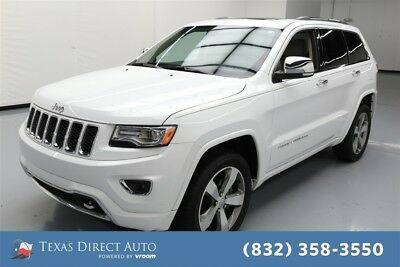Jeep Grand Cherokee Overland Texas Direct Auto 2015 Overland Used 3.6L V6 24V Automatic 4WD SUV