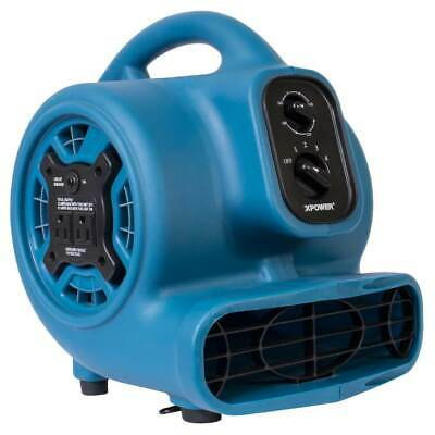 XPower P-230AT 1/5-Hp 2.3-Amp 925-Cfm Electric Mini Mighty Air Mover - Blue