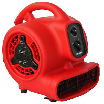 XPower P-200AT 1/8-Hp 1.5-Amp 700-Cfm Electric Mini Mighty Air Mover