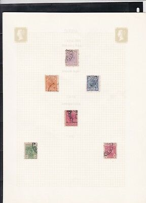 serbia stamps page ref 16988