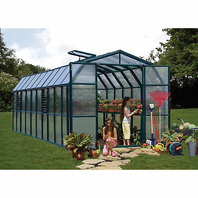 Grand Gardener 2 Twin Wall Greenhouse - 8ft.W x 20ft.L, Model# HG7220