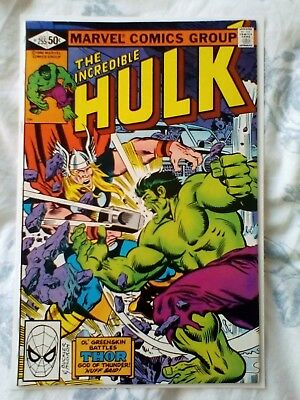 Incredible Hulk 255 (1981)  vs Thor