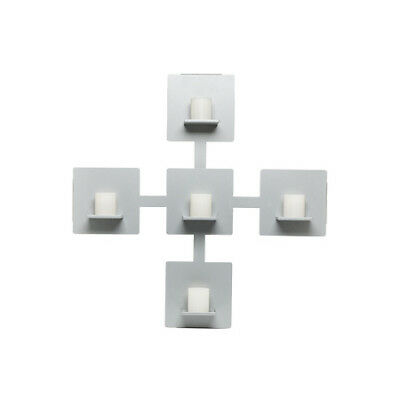 Wall Candle Holder-Silver