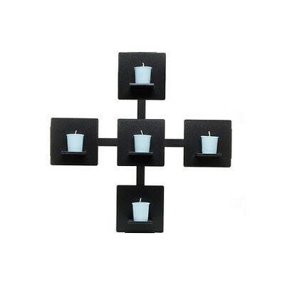 Wall Candle Holder-Black