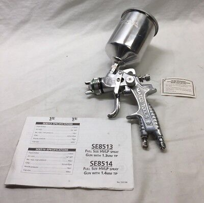 Matco Tools Hvlp Se8513 Full Size Spray Gun With 1.3Mm Tip New