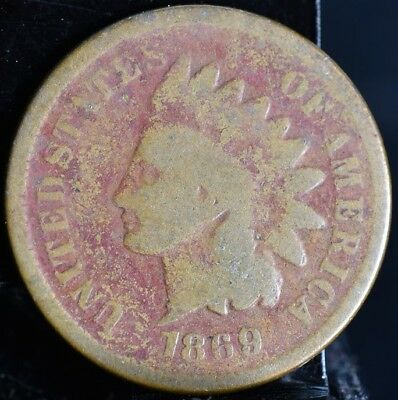 1869/69 Indian Penny