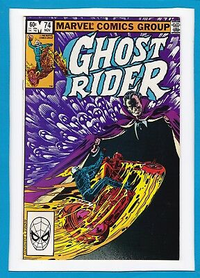 GHOST RIDER #74_NOVEMBER 1982_VERY GOOD_1st APPEARANCE OF CENTURIOUS_BRONZE AGE!