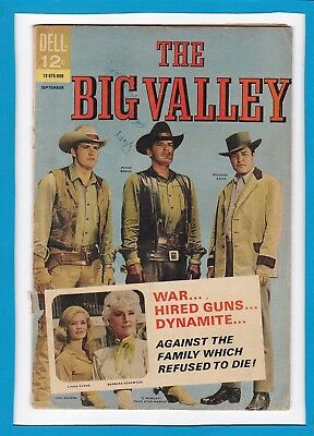 The Big Valley #2_September 1966_G/vg_Silver Age Dell Comics_Western Adventure!