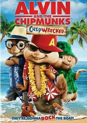 Alvin and the Chipmunks: Chipwrecked (DVD, 2012) NEW