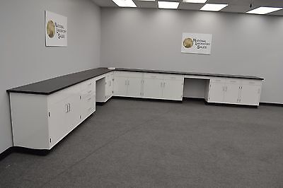17′x15′ Fisher Base Laboratory Furniture Cabinets LAB EQUIPMENT - IN STOCK