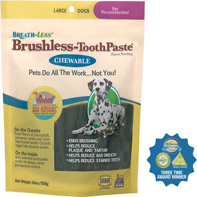 ARK NATURALS Breathless Brushless Toothpaste for Dogs Large - 18 oz. (508 g)