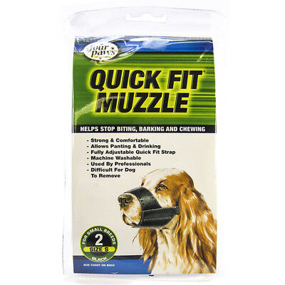 FOUR PAWS - Quick Fit Muzzle for Dogs - Size 2
