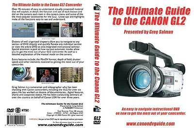 Canon GL2 Training DVD Guide, Tips, Tricks, Techniques - Best Video Training NEW