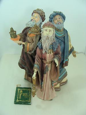 "Vintage 1985 Duncan Royale History of Santa II Magi 3 Wise Men 11""  Ltd Ed"