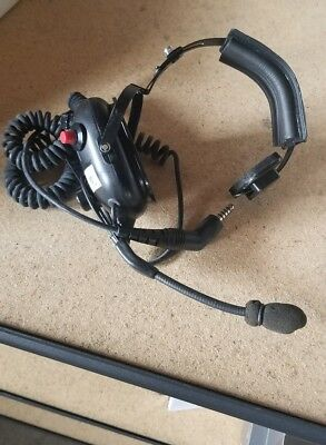 Firecomm Headset Wired Model FH-10S-Fire fighter Fire truck Accessories