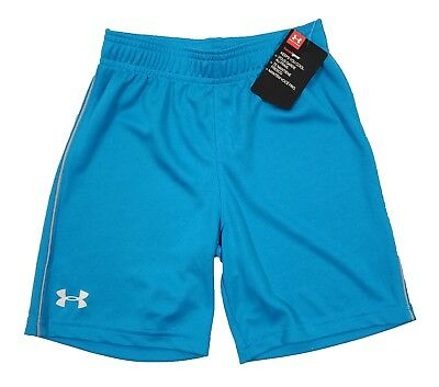 Under Armour Boys Blue Pull-On Athletic Shorts