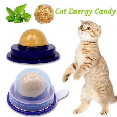 Healthy Cat Snacks Catnip Sugar Candy Licking Solid Nutrition Energy Food Ball