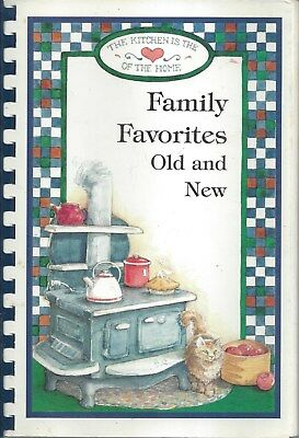 Richfield Mn 1995 Family Favorites Old & New Cook Book Myrt Thom & Family * Rare