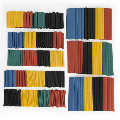 328Pcs Electrical Cable Heat Shrink Tube Tubing Wrap Sleeve kit 8 Sizes 2:1