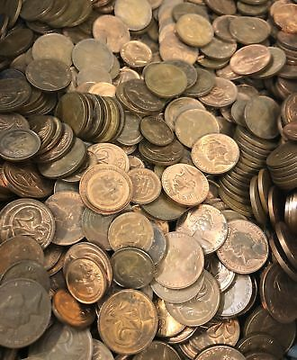 BULK LOT OF 2KG MIXED AUSTRALIAN 1c & 2c Coins - PERFECT FOR NOODLING