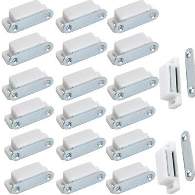 20Pcs Magnetic Door Catch Latch For Kitchen Cabinet Cupboard Wardrobe Bookcase