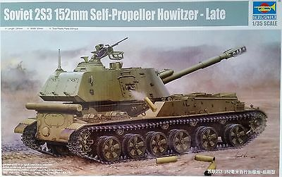 TRUMPETER® 05567 Soviet 2S3 152mm Self-Propeller Howitzer in 1:35